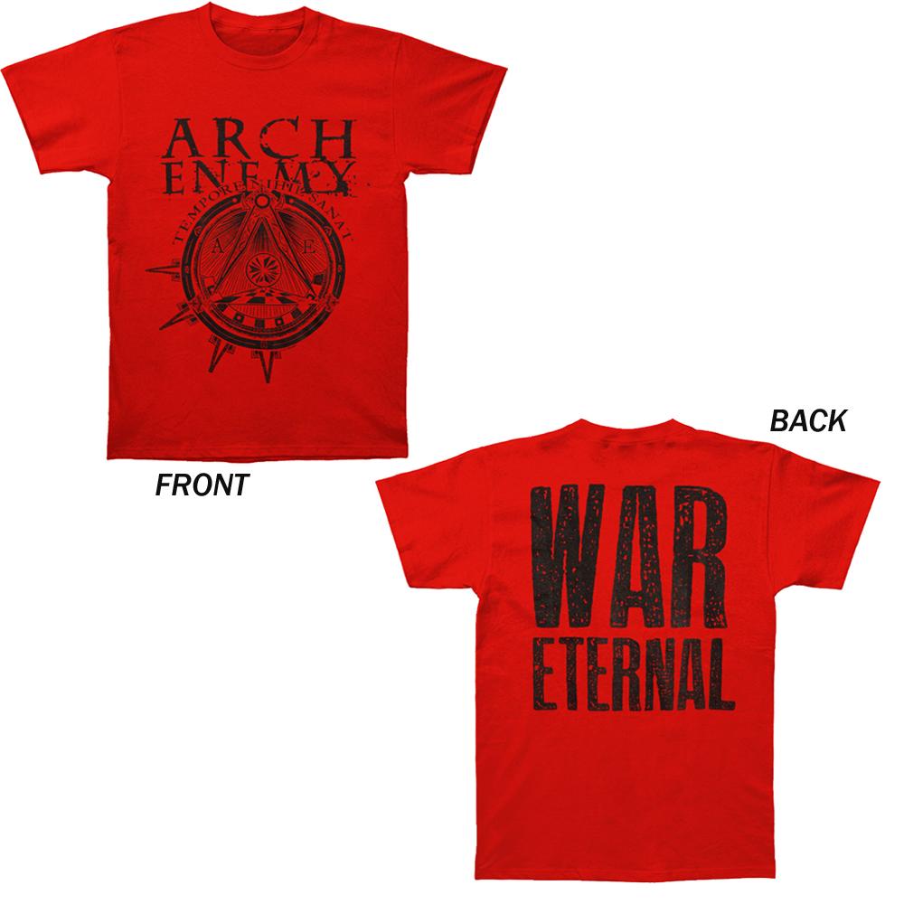 Backstreetmerch Symbol Red Arch Enemy T Shirt