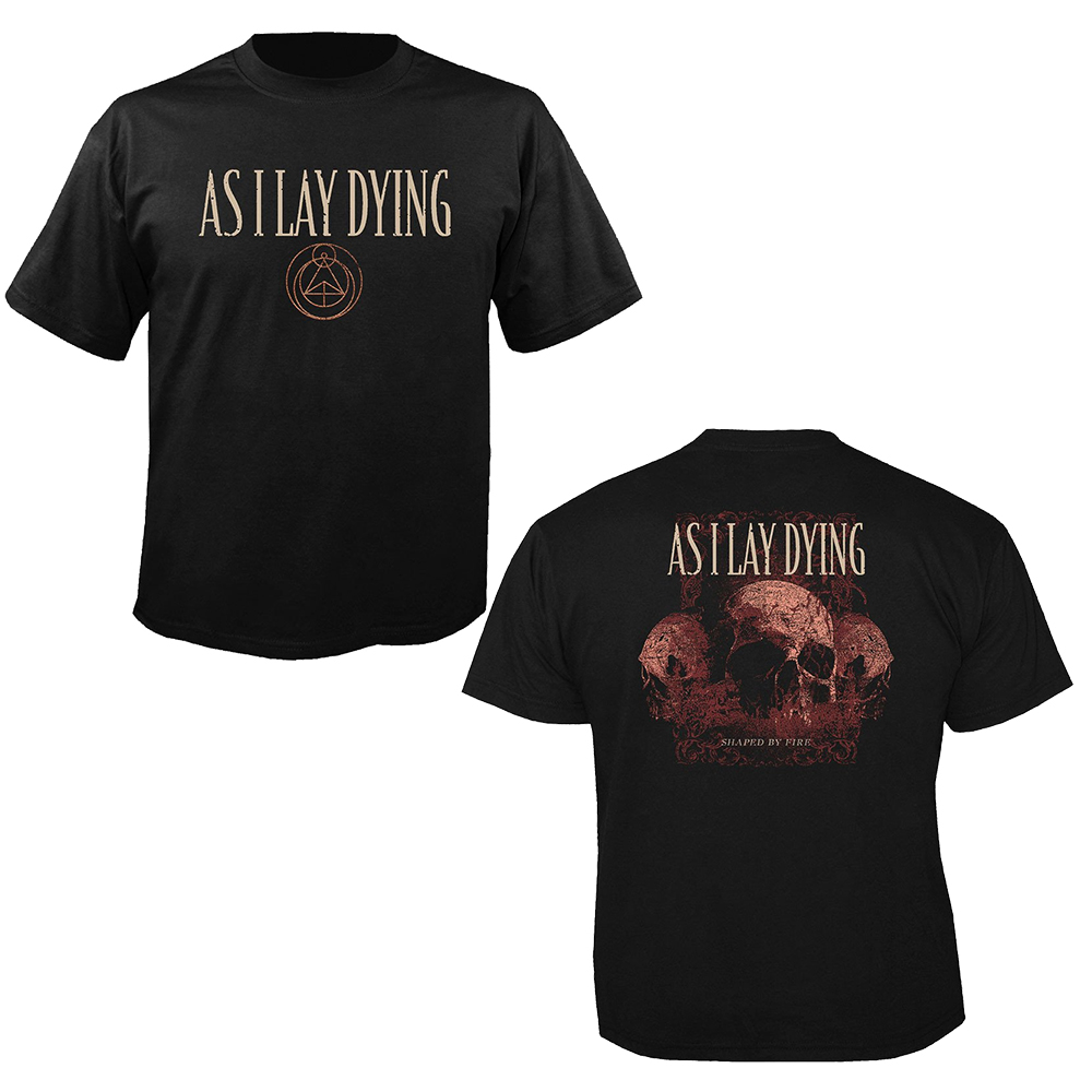 Assorted Sizes As I Lay Dying Music T-Shirt 100/% Official