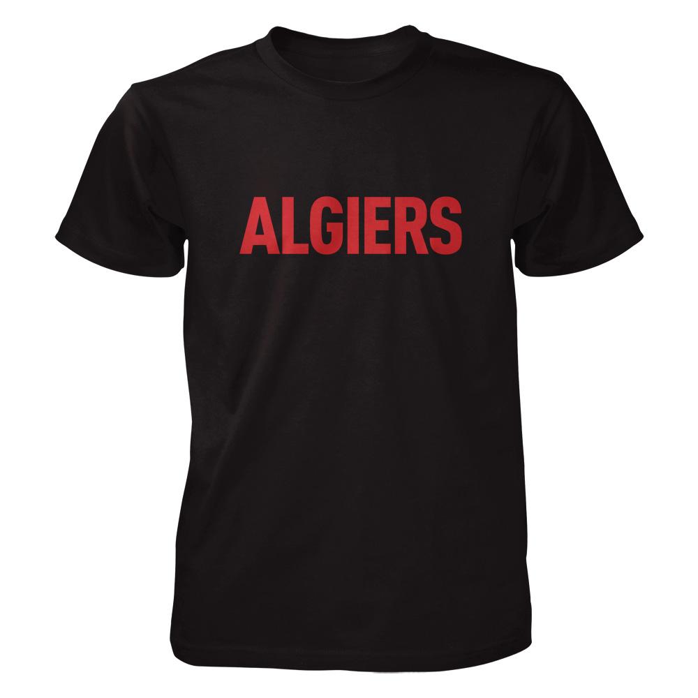 Algiers | Red Logo (Black) | Algiers | T-Shirt