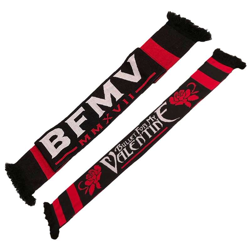 bullet for my valentine logo woven scarf