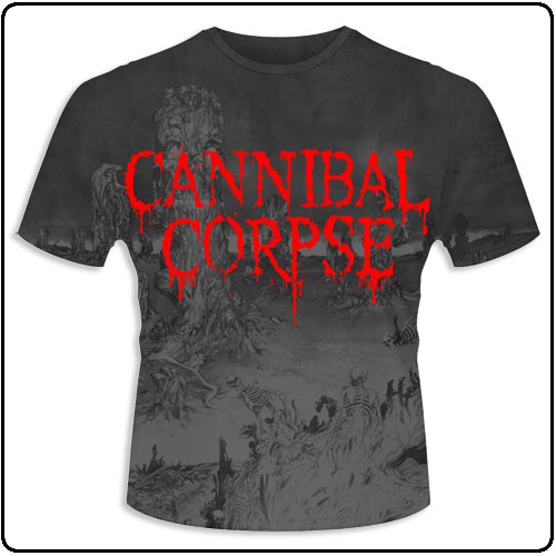 Cannibal Corpse - A Skeletal Domain (All Over Print)