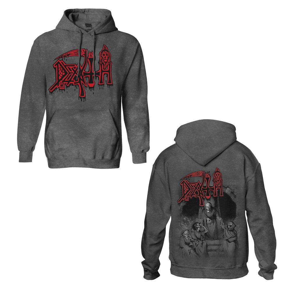 350f1e27368aa0 Scream Bloody Gore (Vintage Wash Hoodie). Death