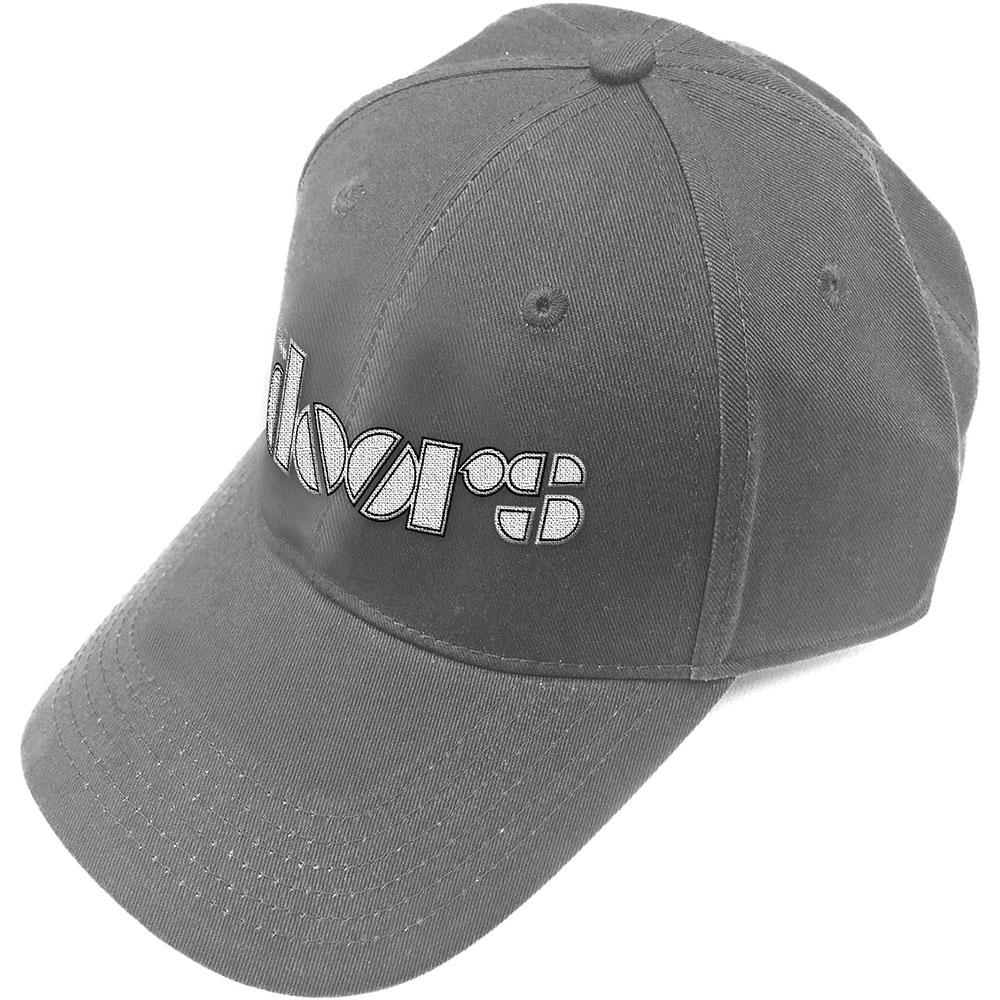 The Doors Logo Black Snapback Hat