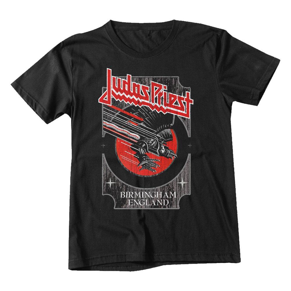 Womens Black Leather T Shirt