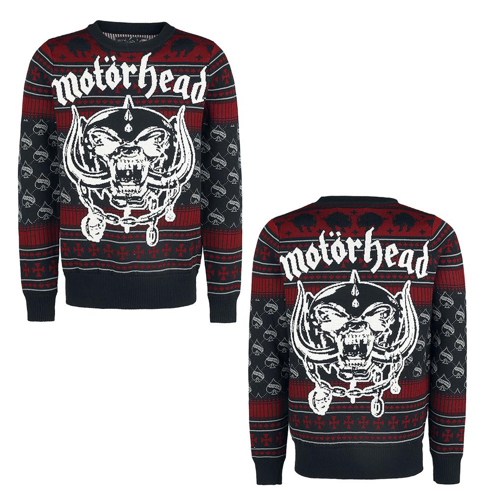 Motorhead | Christmas Jumper | Motorhead | Jumper