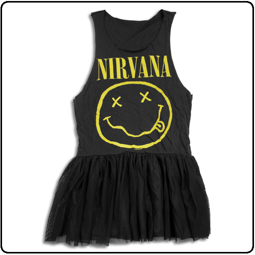 Nirvana - Smiley Tutu