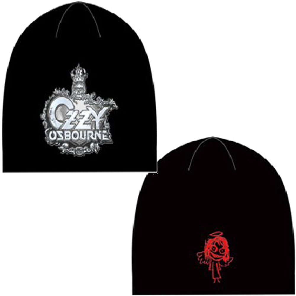 Ozzy Osbourne Crest Logo Keychain
