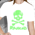 Rancid : D-Skull Green (Girls)