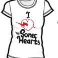 The Sonic Hearts : T-Shirt