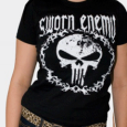 Sworn Enemy : Girls T-Shirt
