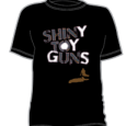 Shiny Toy Guns : Outline (Black)