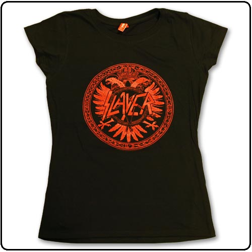 Slayer - Crest Black Skinny