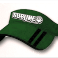 Sublime : Green Washed Visor