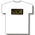 Sublime : License Plate
