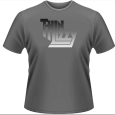 Thin Lizzy : Gradient Logo Grey