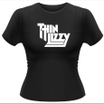 Thin Lizzy : Classic Logo (Girls)