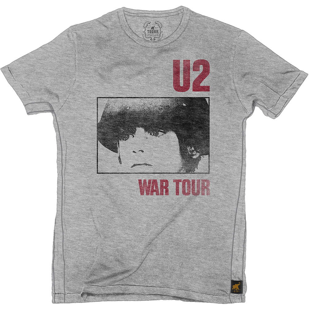 METAL ORGIE | War Tour (Grey) | U2 | T-Shirt