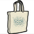 65daysofstatic : Scatter Shot (Natural Tote)