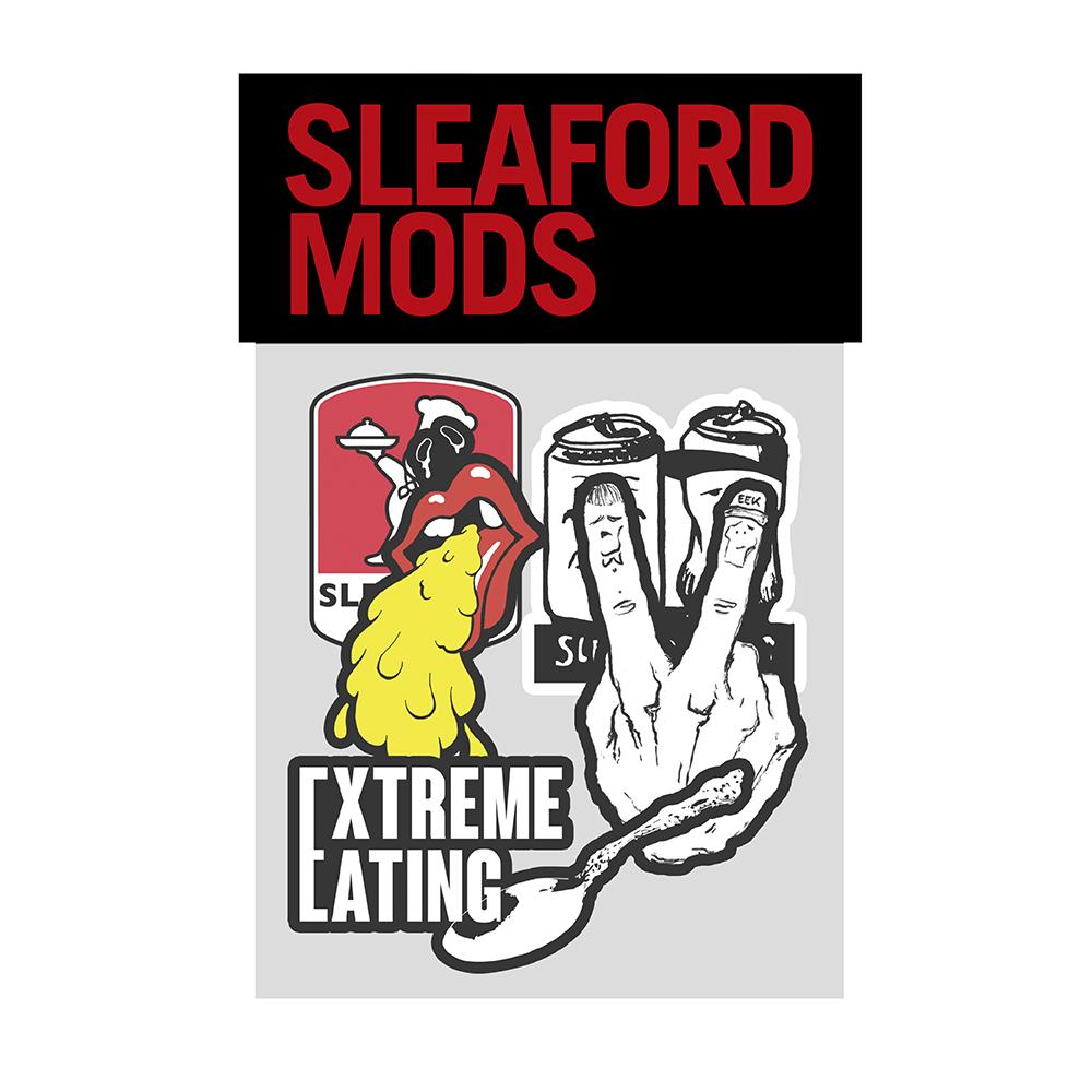 Sleaford mods sticker pack