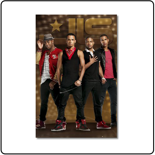 JLS - Gold Poster