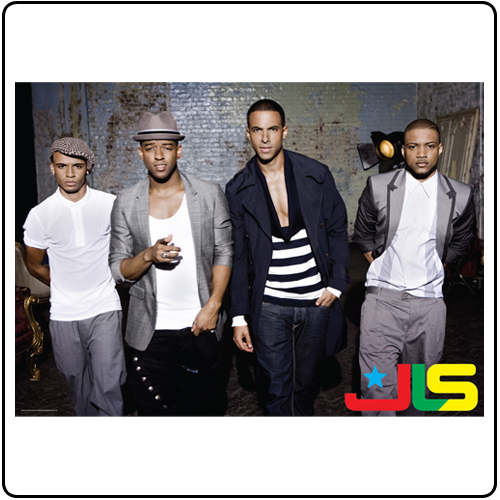 JLS - 2010 Tour Poster
