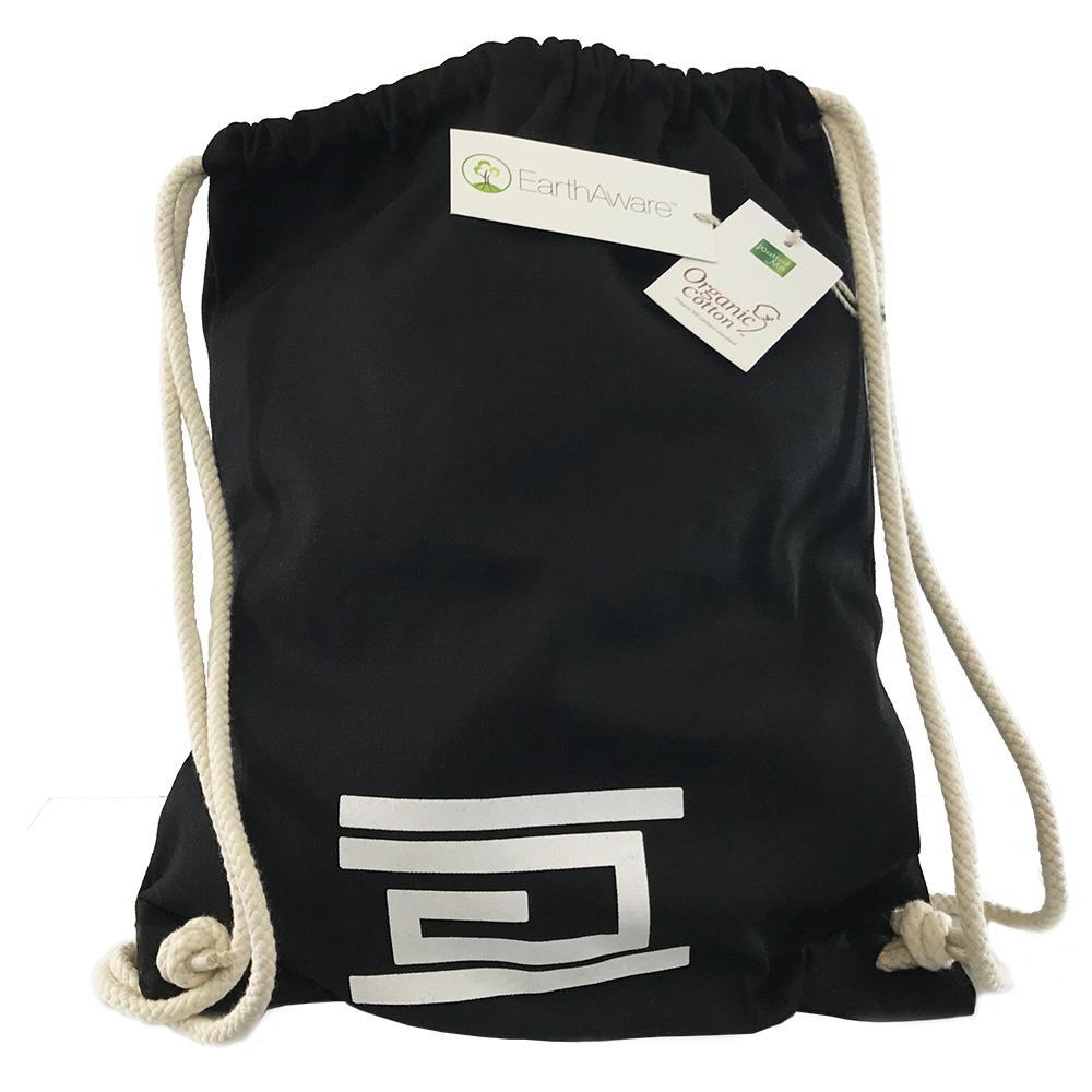 Drawstring Bag Black