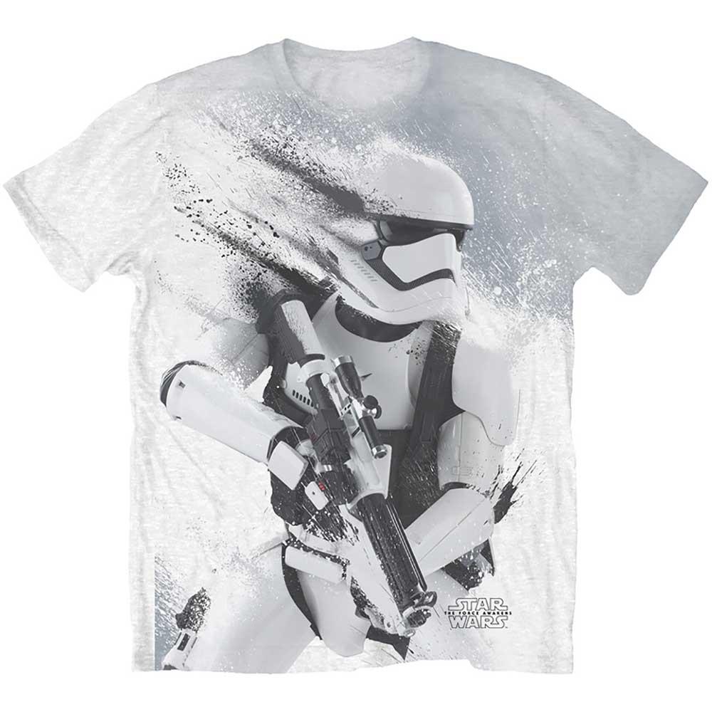 Star Wars Unisex Tee Episode VII Storm Trooper Sublimation Print
