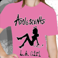 Adolescents : LA Girl Pink (Girls)