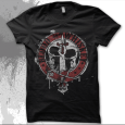 Blood Or Whiskey : Skull (Mens & Womens Black)