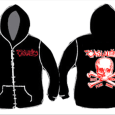 The Casualties : Skull (Zip)