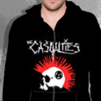 The Casualties : Mohawk Skull (Zip)