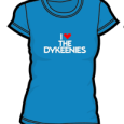 The Dykeenies : Heart (Blue)