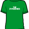 The Dykeenies : Logo (Green)
