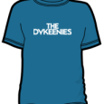 The Dykeenies : Logo (Blue)