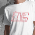 The Five O`Clock Heroes : Logo White (Mens)