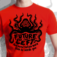 Future Of The Left : Octopus (red)