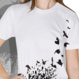 Hot Hot Heat : SALE - Birds (White)
