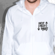 Hot Hot Heat : SALE - Logo Hoodie (White)