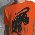 Johnny Truant : Panther (Orange) - SALE PRICE