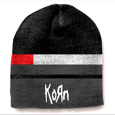 Korn : Black - Red - Grey Striped