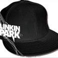 Linkin Park : Black Flatbill Embr & Embos Art