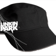 Linkin Park : Black Cadet W. Embroid. & Embos. Rivet