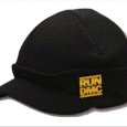 Run-DMC : Billed Beanie Black