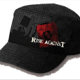 Rise Against : Red Logo (Fitted With Windowed Front)