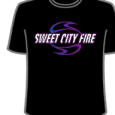 Sweet City Fire : Logo (Black)