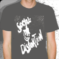 Social Distortion : X-Face ( Grey - Fitted)
