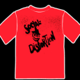 Social Distortion : X Face (Red)