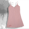 Scouting For Girls Wolfclub : American Apparel Jersey Dress Logo (Pink)