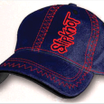 Slipknot : Zig-Zag Navy Fitted