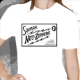 Squirrel Nut Zippers : White Roasted Right Logo (Girls)